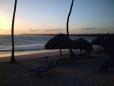 Pôr-do-sol em Punta Cana.