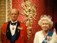Cera - Rainha Elizabeth e o Príncipe Philip.