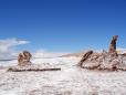 Valle De La Luna. Rochas conhecida por Três Marias