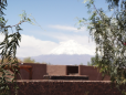 Ao fundo o inativo vulcão Licancabur
