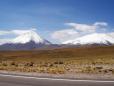 Vulcão inativo: Licancabur.