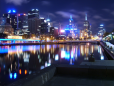 Noite em Melbourne
