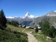 Pequeno Vilarejo nos Alpes Suiços.