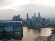 Teleférico por Singapore