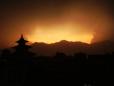 Pôr-do-sol em Taleju.