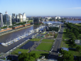 Vista aérea de Puerto Madero
